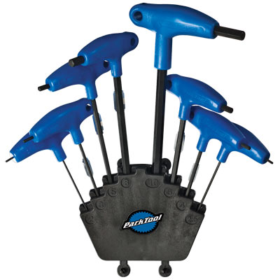 PARK TOOL PH-1.2 P-HANDLED HEX WRENCH SET