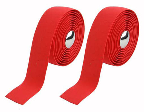 Handlebar Grip Tape-Red