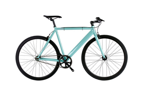 6KU Fixed Gear Track Bike // Celeste