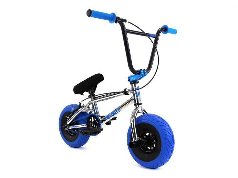 FatBoy Mini BMX Pro Tomahawk X Chrome Blue
