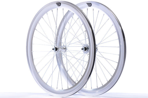 Pure Fix Silver 50mm Wheelset