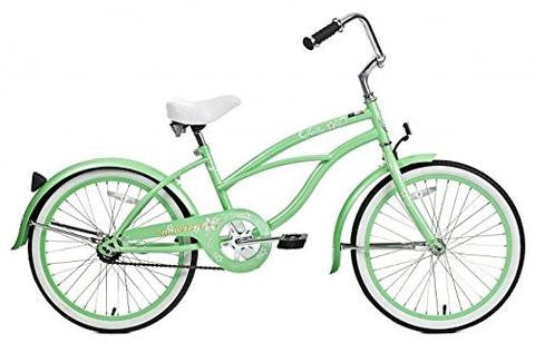 "Micargi 20"" Jetta Girls Beach Cruiser Bike"