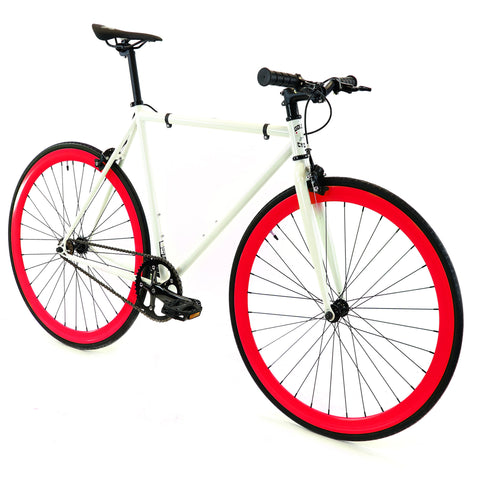Golden Cycles Diablo Red Fixie Bike