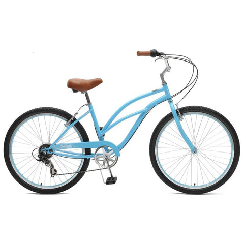 Critical Cycles Catham-7 Step Thru Beach Cruiser