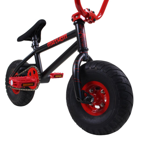Mayhem Mini BMX Bike Black Red