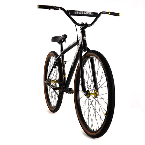 "Throne The Goon Fixed Gear 29"" Bike Black"