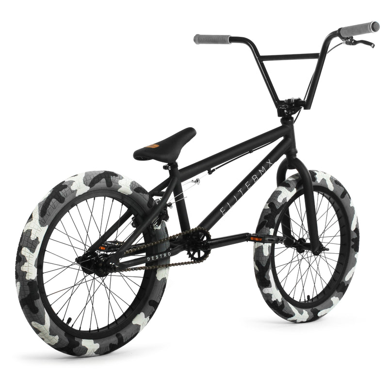 Elite BMX Destro Bike Black Camo