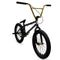 Elite BMX Destro Bike Black Gold 20""