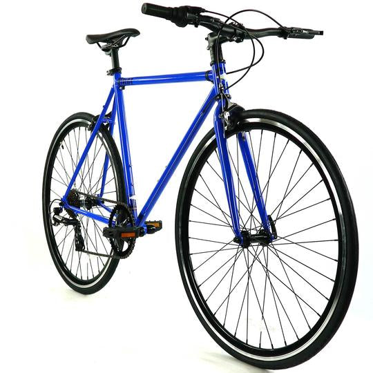 Golden Velo 7 Urban Commuter Bike Blue