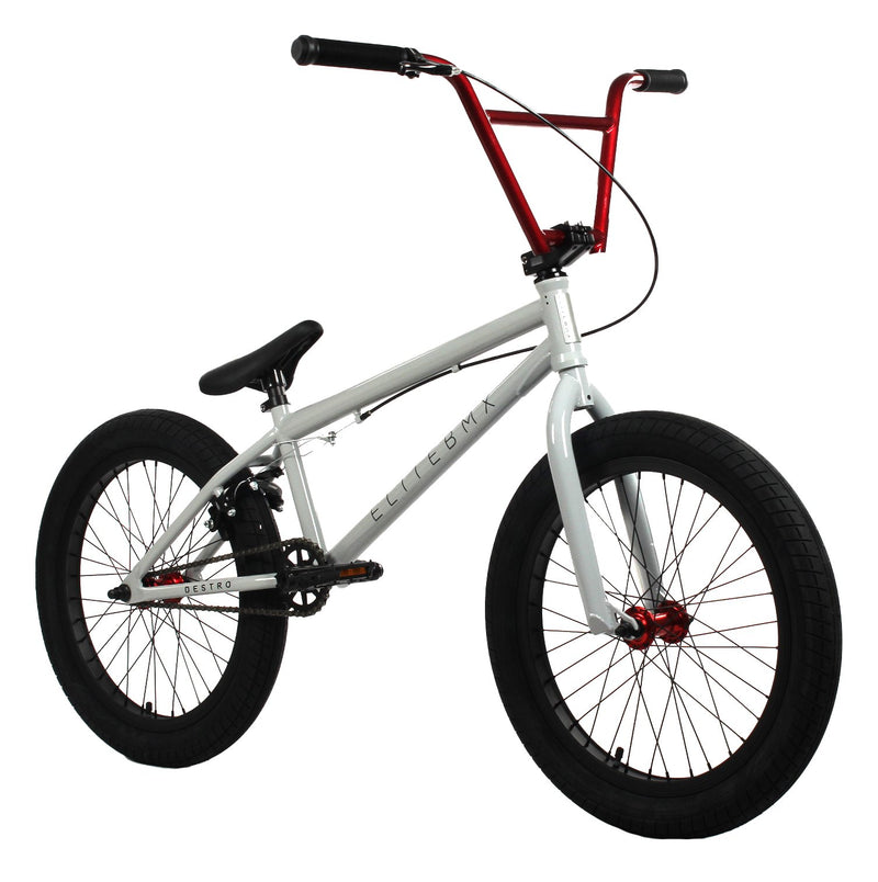 Elite BMX Destro Pro BMX Bike 2020 Grey Red