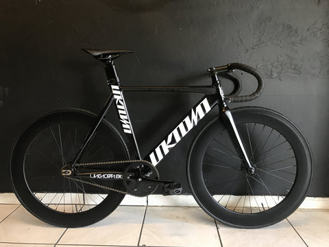 Unknown Singularity Track Bike W/ 70mm Wheelset