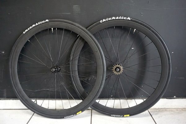 45mm Fixie Wheelset with ThickSlicks