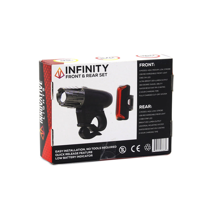 Infinity - USB Rechargeable