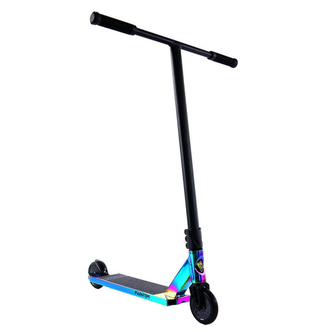 V2 Mayhem Phantom Pro Kick-Scooter Neo Chrome Oil Slick