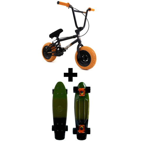 FatBoy Pro Mini BMX Holiday Bundle Jet Fighter