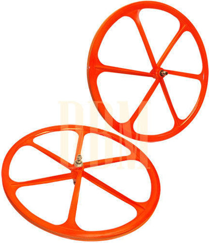 Orange Teny Mag Wheelset
