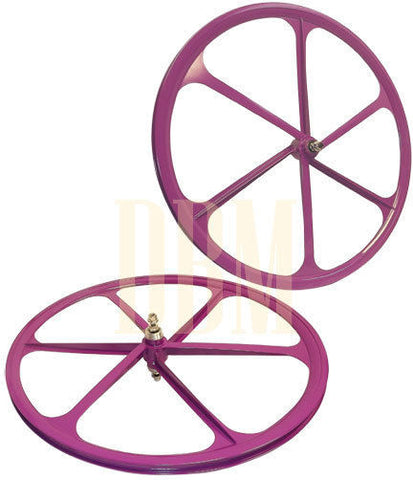 Purple Teny Mag Wheelset