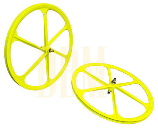 Yellow Teny Mag Wheelset