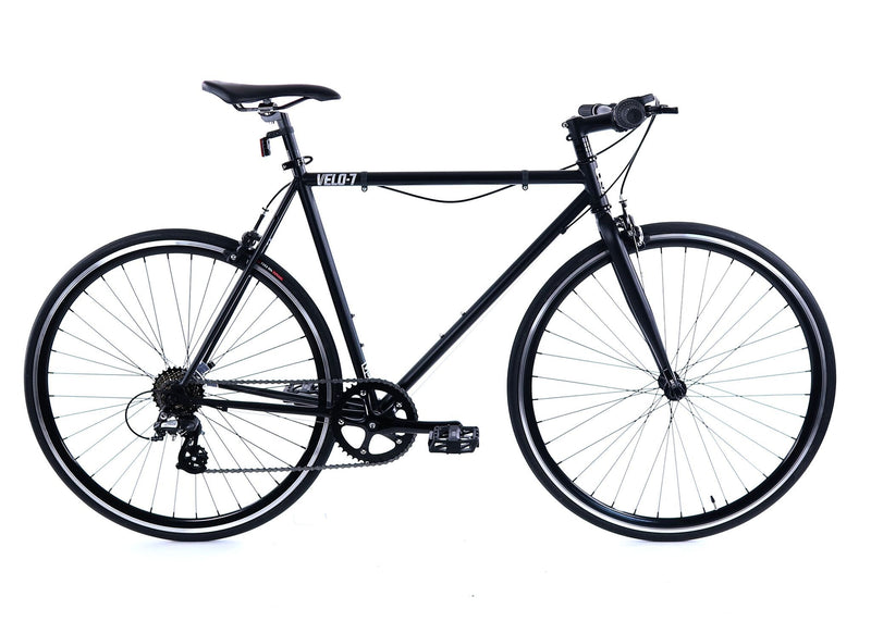 Golden Velo 7 Urban Commuter Bike Black