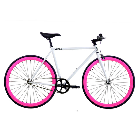 ALFA Fixed Gear Bike Greek 2.0 Pink