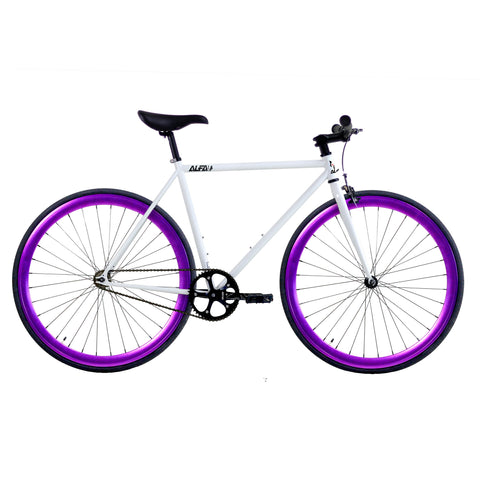 ALFA Fixed Gear Bike Greek 2.0 Purple