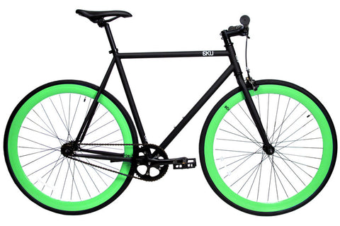 6KU Nebula Paul Single-Speed Fixed Gear Bike