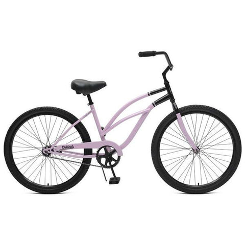 Critical Cycles Catham 1-Step Thru Single Speed Women Beach Cruiser