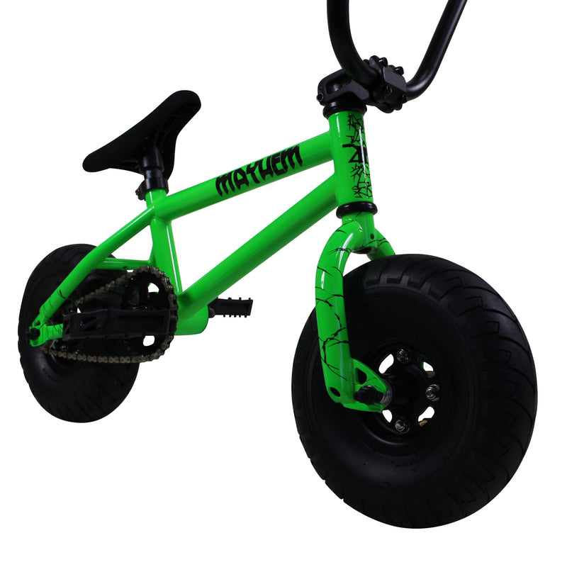 Mayhem Mini BMX Bike Monster Green
