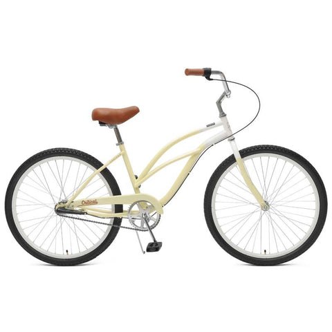 Critical Cycles Catham-3 Step Thru Women Beach Cruiser