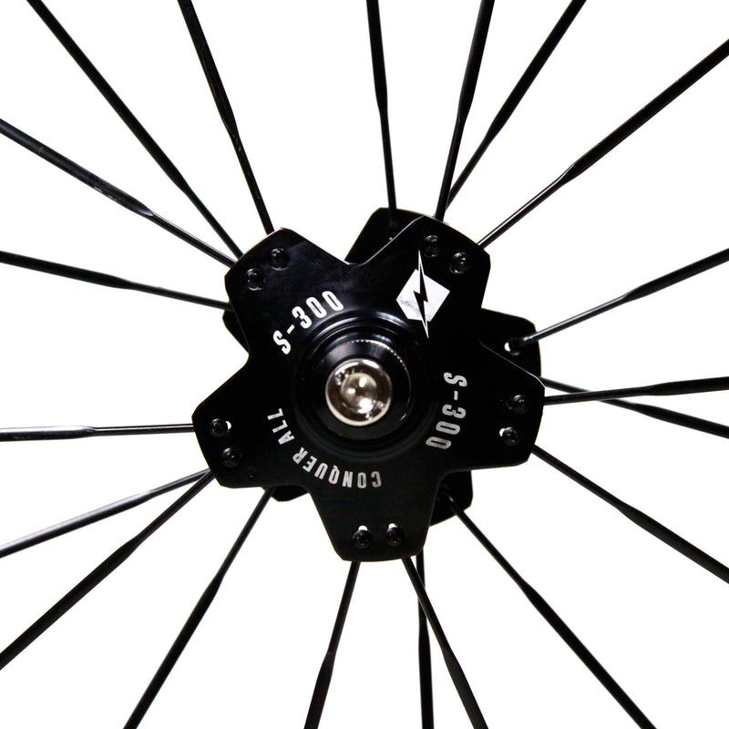 Conquer S-300 Fixed Gear Wheelset