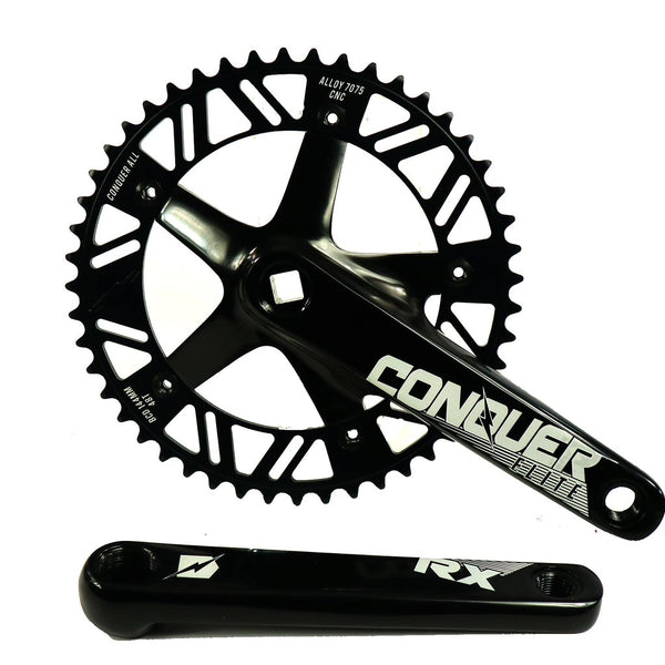 Conquer RX tapered square crank-set