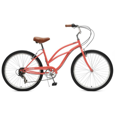 Critical Cycles Catham-7 Step Thru Women Beach Cruiser