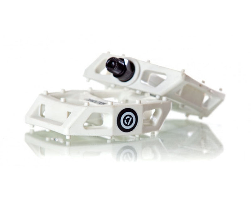 PC Demolition Pedals Clear Black