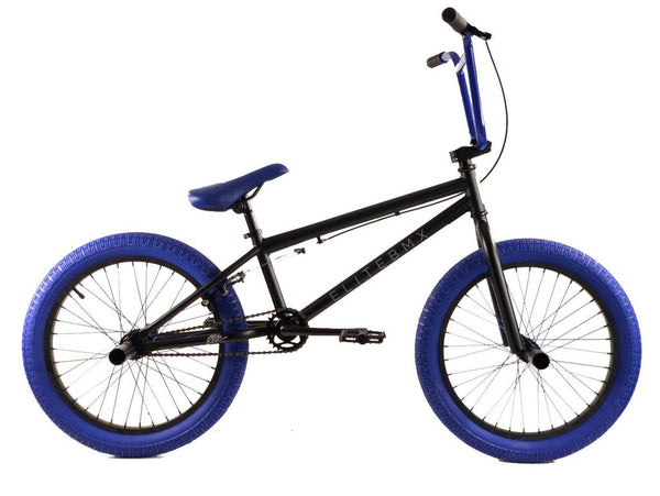 Elite BMX Stealth Bike Black Blue