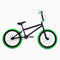 Elite BMX Stealth Bike Black Green