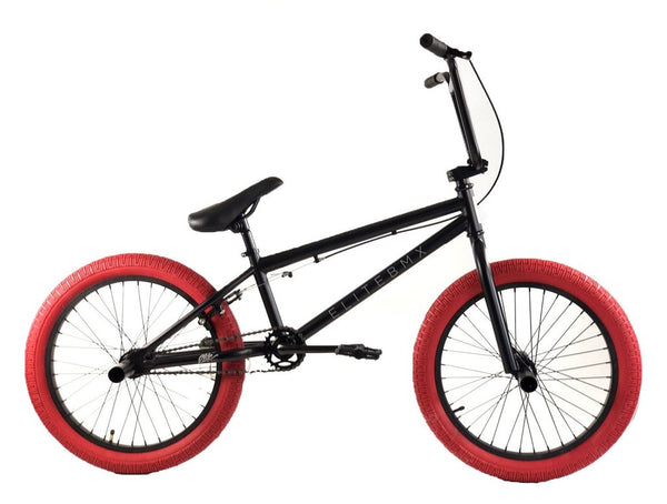 Elite BMX Stealth Bike Black Red