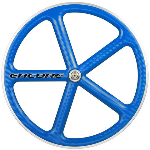 Encore Front Track Wheel Blue