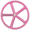 Encore Front Track Wheel Pink