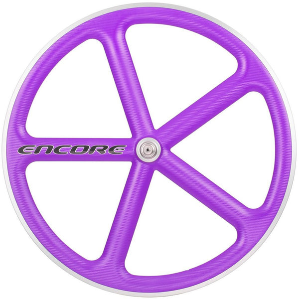 Encore Front Track Wheel Purple