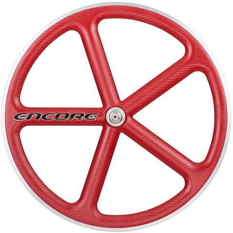 Encore Front Track Wheel Red