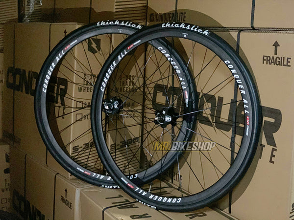 Conquer S-300 Wheelset with ThickSlicks
