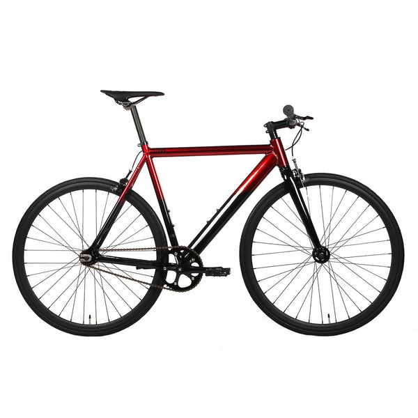 Golden Uptown Track Bike Red