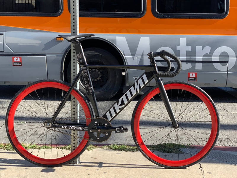 Unknown Singularity Track Bike Build by Mr. Bikes