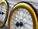 70mm Gold Wheels