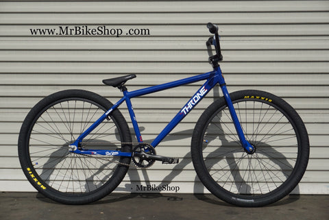 Throne Da'Goon Blue Bike w/ Maxxis Tires