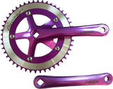 Anodized Green Lasco Original 3pc Crankset