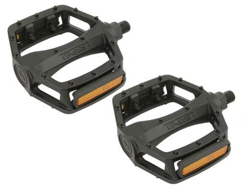 New Black Alloy 9/16 Pedals