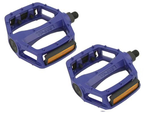 New Blue Alloy 9/16 Pedals