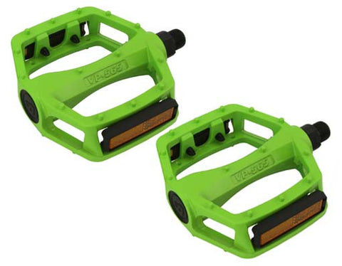 New Lime Green Alloy 9/16 Pedals