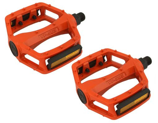 New Orange Alloy 9/16 Pedals